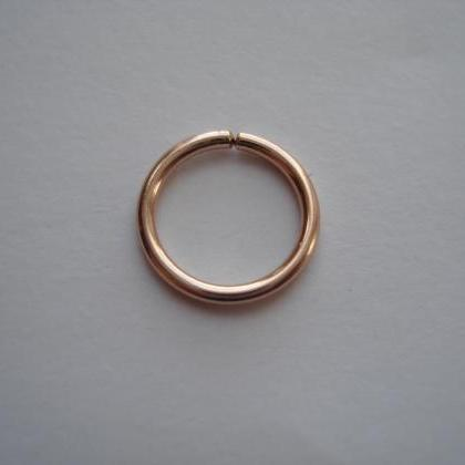 18G Gauge 14K Rose gold Filled, sep..